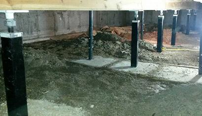 Crawl Space Repair in Gregory