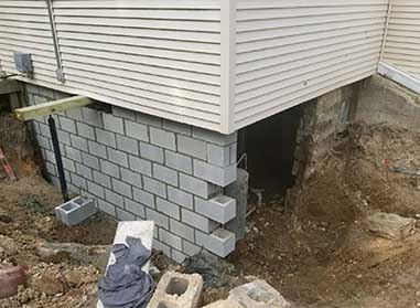 Foundation Replacement Services