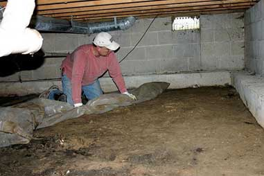 Residential Crawl Space Repair In Livonia MI
